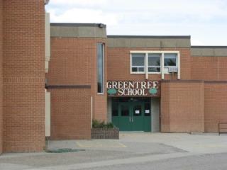 Greentree Elementary School in Drumheller, Alberta