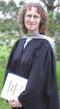 Linda Aksomitis, U of R graduation in 2007 ion)