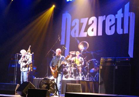 Nazareth in concert at the Casino Regina Show Lounge in Regina, SK.