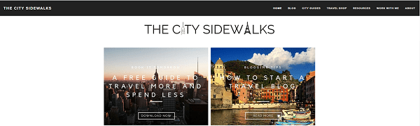 The City Sidewalks