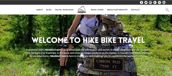 Hike, Bike, Travel