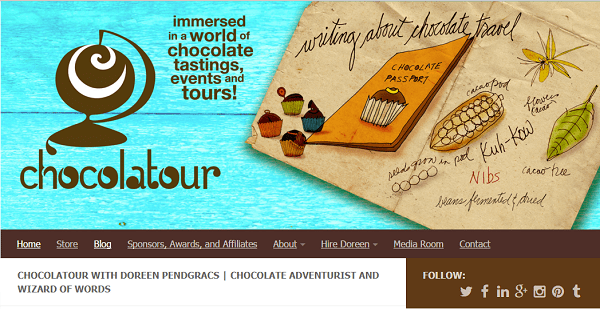 CHOCOLATOUR WITH DOREEN PENDGRACS