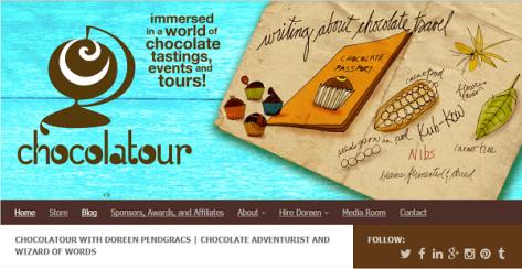 CHOCOLATOUR WITH DOREEN PENDGRACS