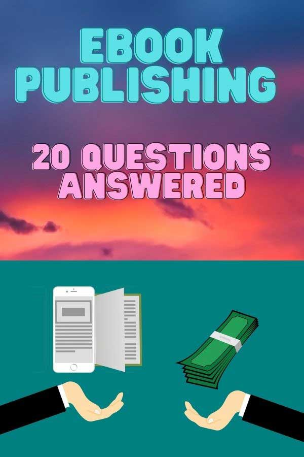 answers to ebook publishing questions